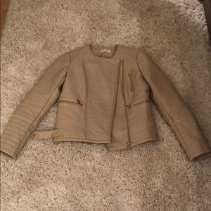 Calvin Klein Faux Leather Jacket - XS - Worn Once